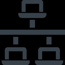 Pcのlan接続 ネットワークのアイコン素材 1 京なかgozan