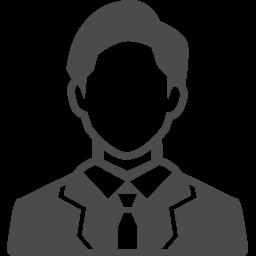 スーツの男性のアイコン素材 京なかgozan
